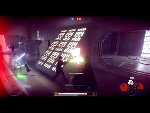 Star Wars Battlefront 2 - HvV 29k score game as Vader  