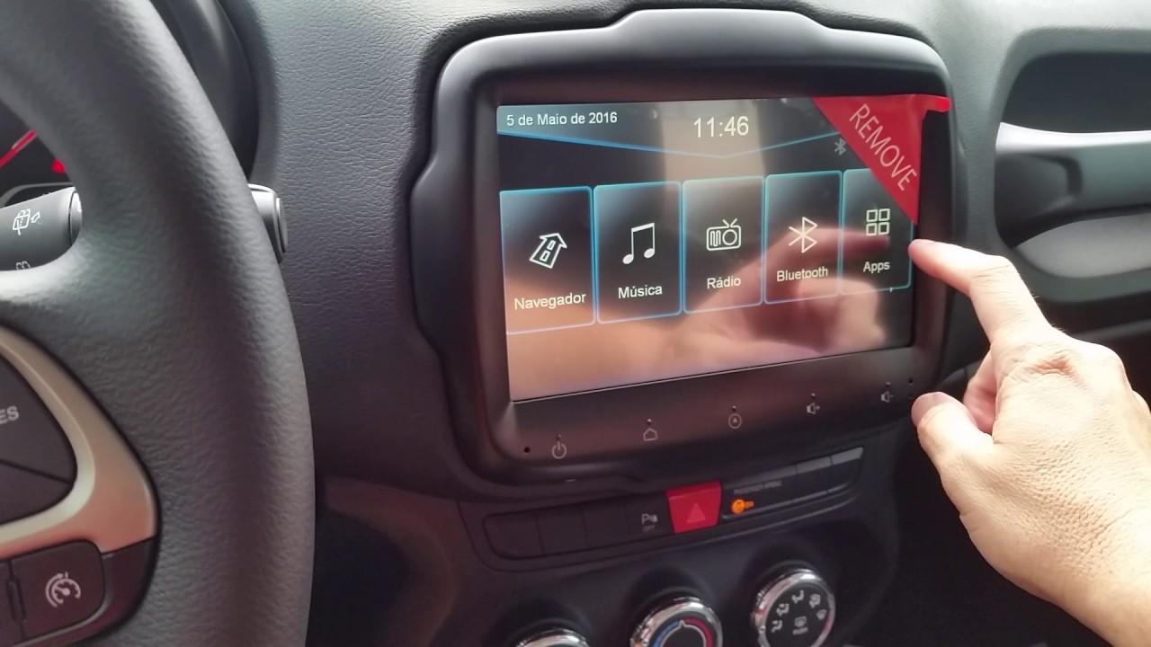 Central Multimídia Jeep Renegade e Fiat Toro - YouTube