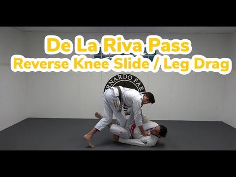 De La Riva Guard Pass - Reverse Knee Slide / Leg Drag