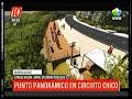 Bariloche: Punto panorámico en el Circuito Chico