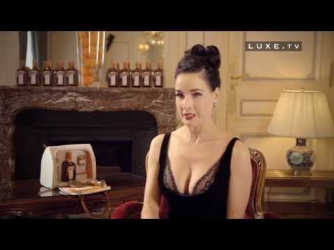 My Cointreau Evening Bag by Dita Von Teese report on Luxe TV by Andrea 1Dreah Pennington