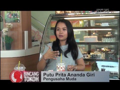 Bincang Tokoh Bali, Putu Prita Ananda Giri, wirausahawan muda (antv)