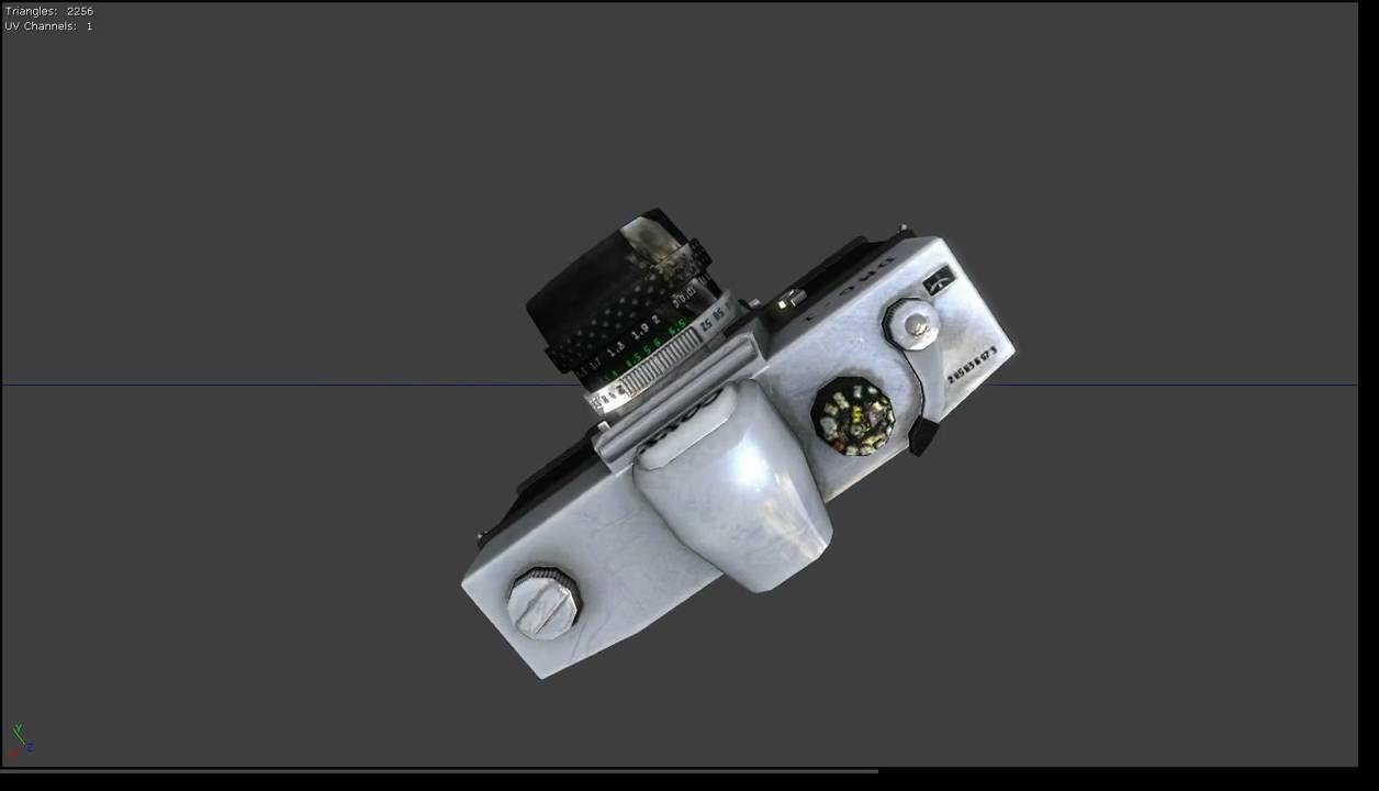 Unreal Engine 3 Model Viewer Old Camera