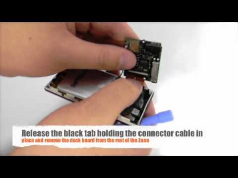 Installing a Zune 4GB, 8GB, 16GB Battery