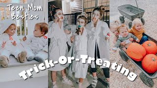 halloween vlog with my best friends and their babies!