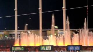 The Fountains of Kauffman Stadium