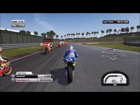 MotoGP 15 Suzuki Gameplay (PS4)
