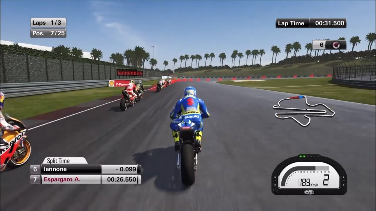 MotoGP 15 Suzuki gameplay (PS4) - YouTube