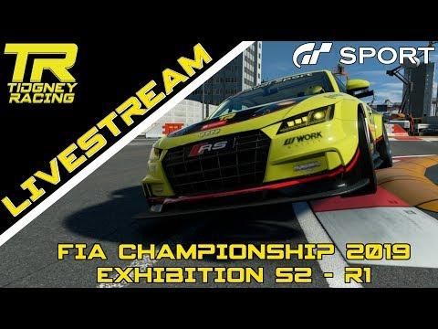 [GT Sport Livestream] - I'm back in the TTTTTTTT    FIA 2019 Exhibition Season 2 - R1