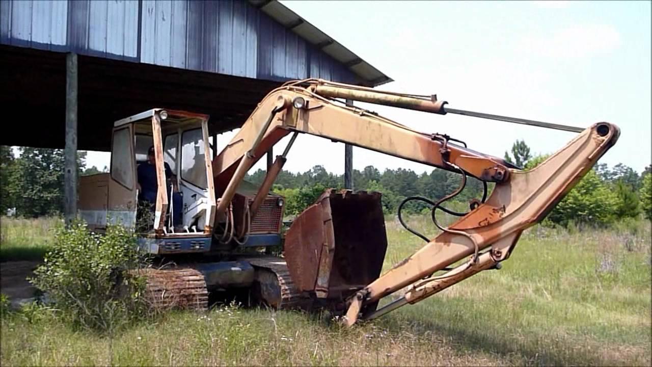Old Bantam Excavator