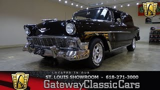 1956 Chevrolet Sedan Delivery Stock #7857 Gateway Classic Cars St. Louis Showroom
