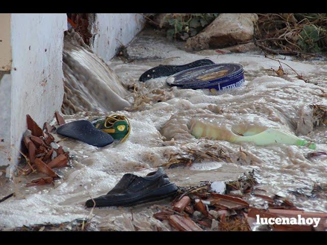 Vídeo-Noticia: Efectos de la tormenta en la zona de Los Santos y residencia El Sauce