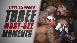 Finishes at Combate Americas 17 | Top 3 Must-See Moments