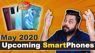 Top 10+ Best Upcoming Mobile Phone Launches in May 2020 ⚡⚡⚡