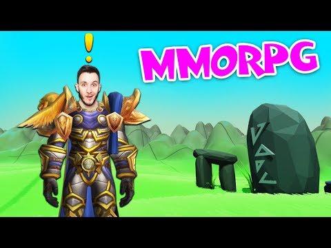 DĚLÁM VLASTNÍ MMO HRU! | MMORPG Tycoon #1