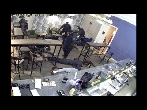 Russian police raid bars, beat some patrons violating coronavirus restrictions