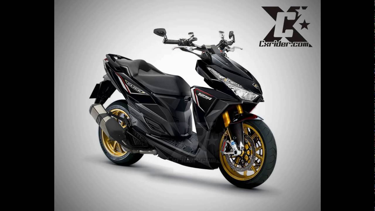 Modifikasi Stang Vario Techno 125 Kumpulan Modifikasi Motor Vario