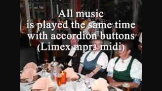 Horch, was kommt von draußen rein - Volkslied - Traditional - Akkordeon und Klarinette