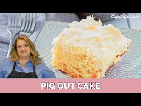 How To Make Pig Out Cake