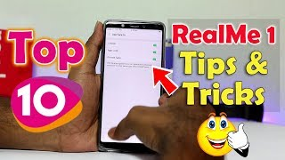 Top 10 RealMe 1 Tricks | Color Os Tips & Tricks | in Telugu