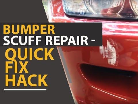 Bumper Scuff Repair - Quick Fix Hack