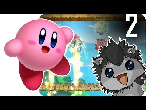 Let's Play 💕 Kirby Star Allies [2] - Waddleball :D