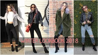 Winter Lookbook 2018 | PrettyLittleThing, Pacsun, Shein, FashionNova, F21| BeatsByLups