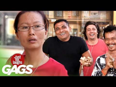 Invisible BOMBS Terrorize Tourists - JFL Gags Asia Edition