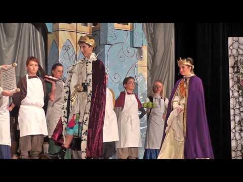 Bianca K as Queen in Cinderella