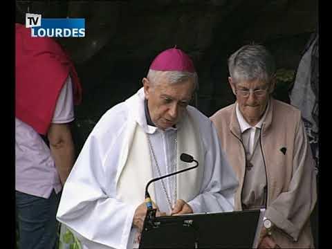 Chapelet de Lourdes du dimanche 22 avr. 2018