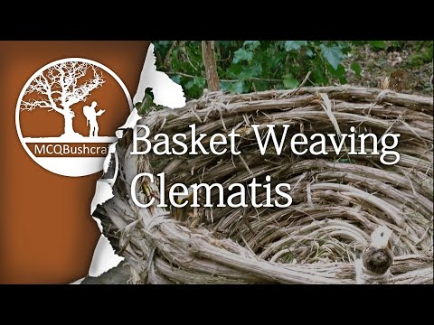Bushcraft Containers: Basket Weaving, Clematis