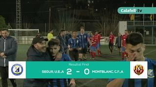La UE Segur supera al Montblanc amb dos gols de Fran Marín (2-0)
