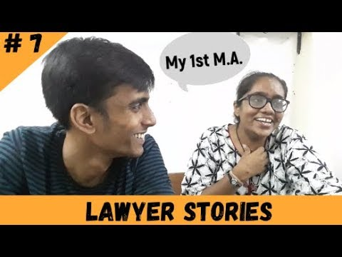 Story of my first argument for an M.A. | Lawyer Stories Ep.07 |