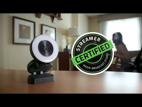 Razer Kiyo - The World's First Broadcasting Camera with adjustable ring light