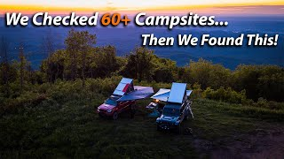 Exploring Tellico From TΝ to NC / Every Campsite Was Full!