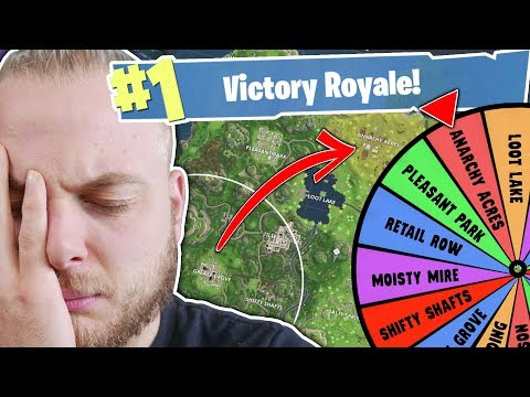 THE WHEEL CONTROLS WHERE WE MOVE?! - FORTNITE BATTLE ROYALE!!