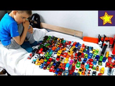 Машинки 170 штук Коллекция всех наших Мини Машинок Toys Cars Collection For Kids