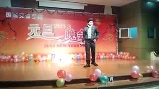 Rajeev singing chinese songs (you mei you ren gau su ni ,有没有人告诉你我爱你 )
