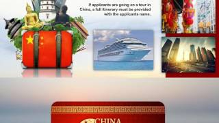 How to apply for Chinese Visa