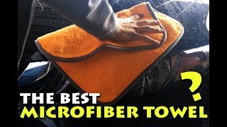 THE BEST CAR DRYING TOWEL REVIEW