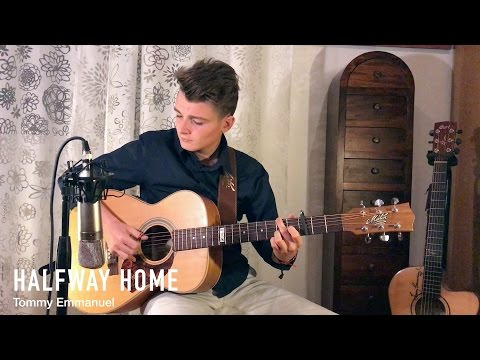Halfway Home - Tommy Emmanuel (Fingerstyle Guitar Cover by Lorenzo Polidori) [+TAB]