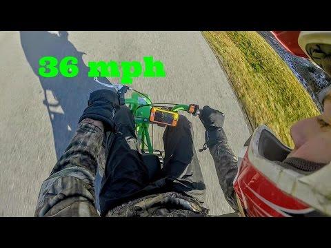 Predator 212cc Mini Bike Top Speed