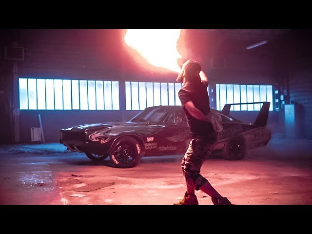 Dodge Charger Drift | OLD DOWN FACTORY The Film by Bastien Balmet
