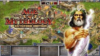 Age Of Mythology Gameplay - Zeus Leading For Victory