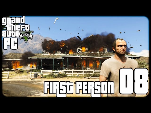 GTA V PC First Person 1080p60 w/Facecam WT #8 - ????? ????? ???????? ?????? - ????????