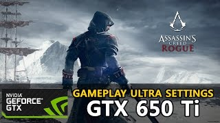 Assassin s Creed Rogue - GTX 650 Ti - i3-3220 Ultra Settings - PC Gameplay HD