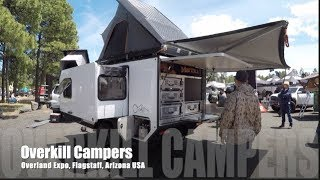 Overkill Campers: 1st ever SLIDE OUT on an off road tear drop trailer I've ever seen