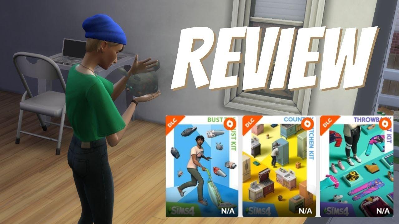 🔴LOS TENTGO! REVIEW COMPLETA de los nuevos KITS para Los Sims 4