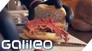 Salt Beef Bagel - Das erste jüdische Fast Food | Galileo | ProSieben