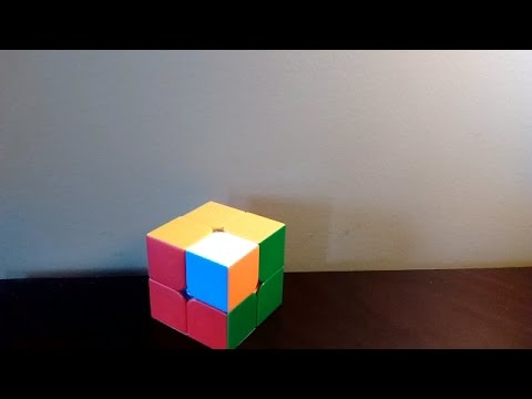 How to make cool patterns on a 2x2 Rubik's cube